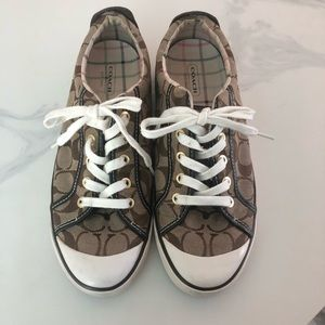 Coach Classic Brown Sneakers - Size 9
